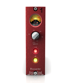 FOCUSRITE RED 1 500 SERIES MICROPHONE PREAMP | Zoso Music
