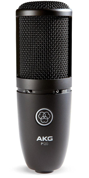 AKG P120 SIDE-ADDRESS CONDENSER MICROPHONE | Zoso Music