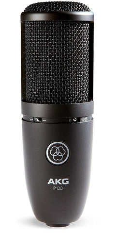AKG P120 HIGH-PERFORMANCE GENERAL PURPOSE RECORDING MICROPHONE | Zoso Music