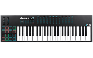 ALESIS VI49 ADVANCED 49-KEY USB/MIDI KEYBOARD CONTROLLER | Zoso Music