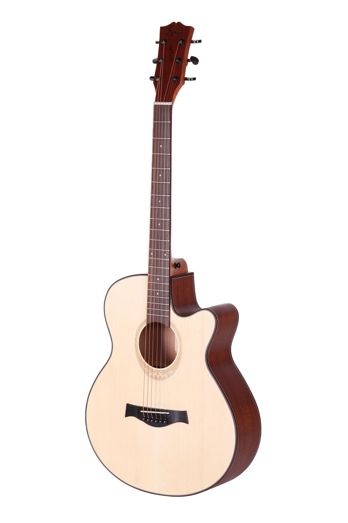 AMARI AM-408CE SPRUCE TOP ACOUSTIC GUITAR WITH EQ & TUNER