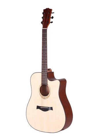 AMARI AM-418CE SPRUCE TOP ACOUSTIC GUITAR | Zoso Music