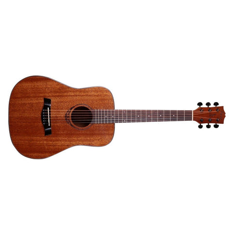ENYA AMARI AM-BABY ALL MAHOGANY SMALL SIZE ACOUSTIC GUITAR WITH EQ AND TUNER | Zoso Music