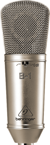 BEHRINGER B1 LARGE DIAPHRAGM CONDENSER MICROPHONE | Zoso Music