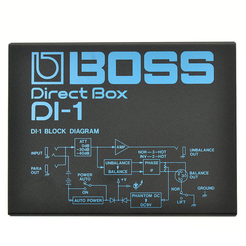 BOSS DI-1 DIRECT BOX | Zoso Music