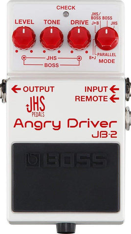 BOSS JB-2 ANGRY DRIVER GUITAR OVERDRIVE EFFECT PEDAL | Zoso Music