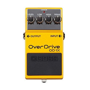BOSS OD-1X OVERDRIVE | Zoso Music