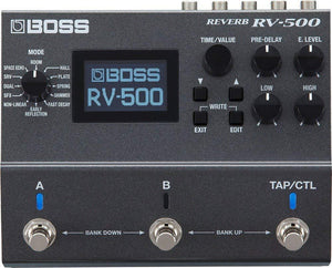 BOSS RV-500 REVERB GUITAR EFFECT PEDAL | Zoso Music