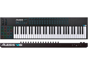 ALESIS VI61 ADVANCED 61-KEY USB/MIDI KEYBOARD CONTROLLER | Zoso Music