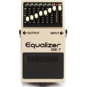 BOSS GE-7 7-BAND EQUALIZER PEDAL | Zoso Music