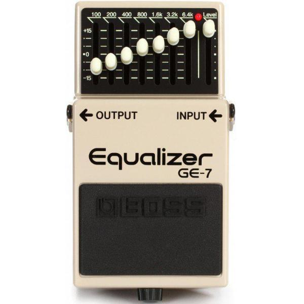 BOSS GE-7 7-BAND EQUALIZER PEDAL (GE7)