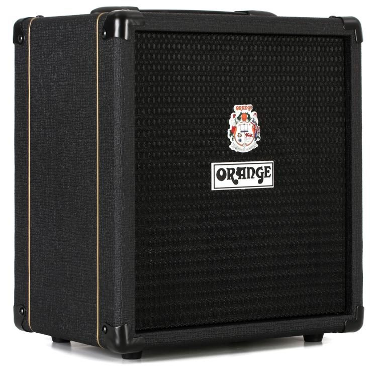 "ORANGE CRUSH BASS 25 BK - 1X8"" 25W BASS COMBO BLACK 