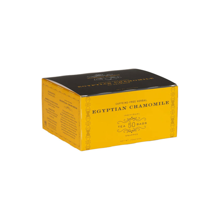 HARNEY & SONS TEABAGS-CHAMOMILE HERBAL 50 TEA BAGS/BOX
