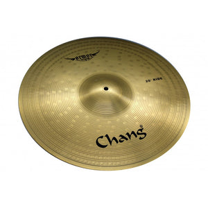 CHANG CYMBAL 14 INCH HI-HAT 16 INCH CRASH 20 INCH E ARMOUR SERIES AR-Y SET, GOLDEN | Zoso Music