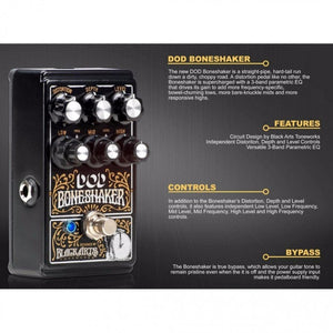 DIGITECH DOD-BONESHAKER DISTORTION GUITAR EFFECT PEDAL | Zoso Music