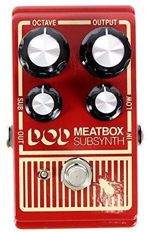 DIGITECH DOD MEATBOX SUB SYNTH PEDAL | Zoso Music