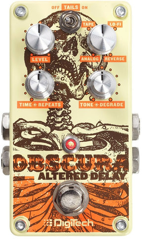 DIGITECH OBSCURA ALTERED DELAY PEDAL | Zoso Music