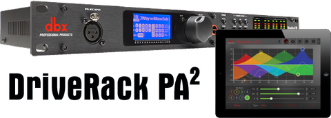 DBX PA2 DRIVERACK COMPLETE LOUDSPEAKER MANAGEMENT SYSTEM | Zoso Music