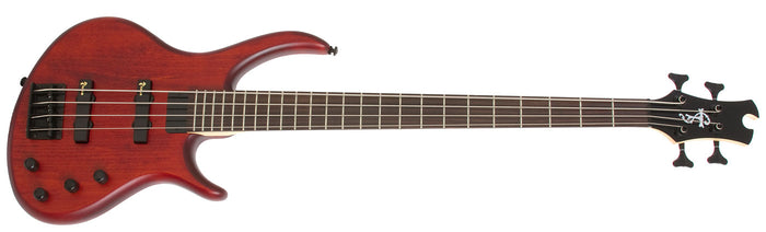 EPIPHONE TOBY DELUXE - IV 4 STRING BASS GUITAR, SATIN WALNUT