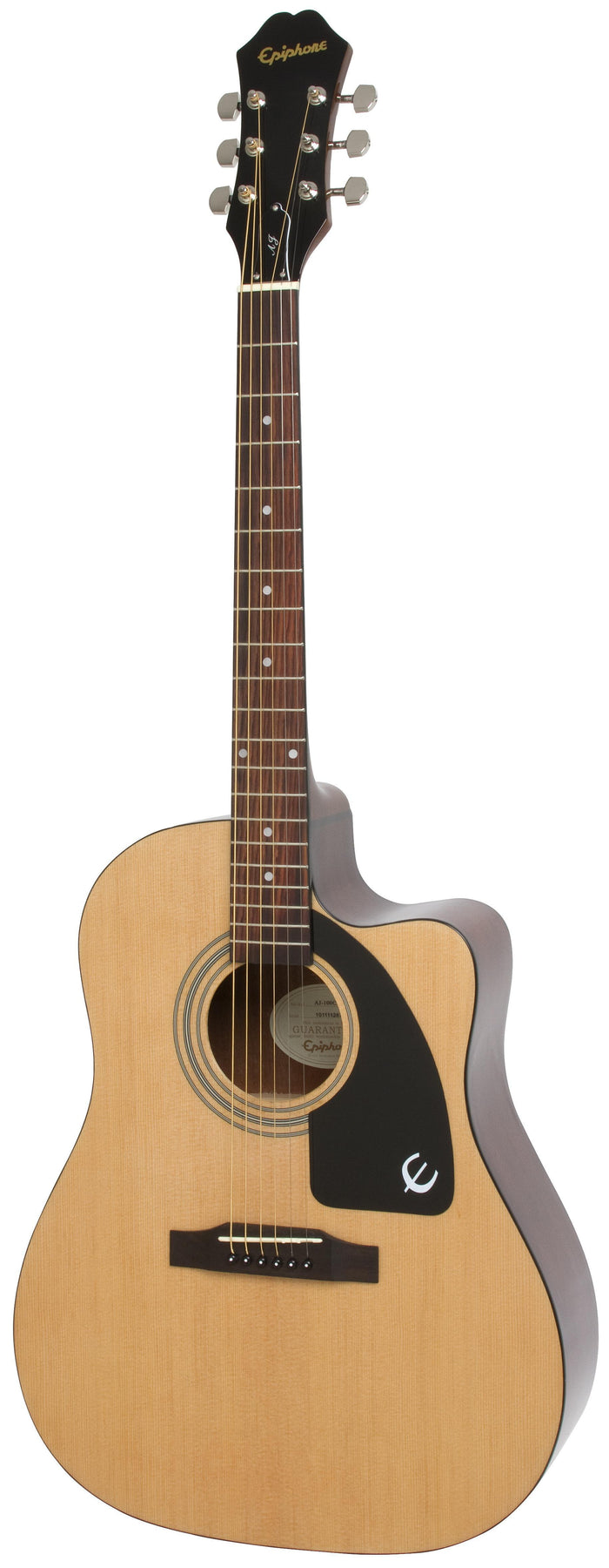 EPIPHONE AJ-100CE ACOUSTIC ELECTRIC GUITAR, ROSEWOOD NECK, NATURAL (AJ 100CE / AJ100CE)