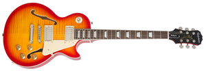 EPIPHONE LES PAUL ES PRO ELECTRIC GUITAR, FADED CHERRY SUNBURST | Zoso Music