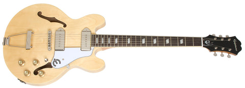 EPIPHONE CASINO COUPE ELECTRIC GUITAR, NATURAL | Zoso Music