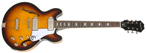 EPIPHONE CASINO COUPE ELECTRIC GUITAR, VINTAGE SUNBURST | Zoso Music
