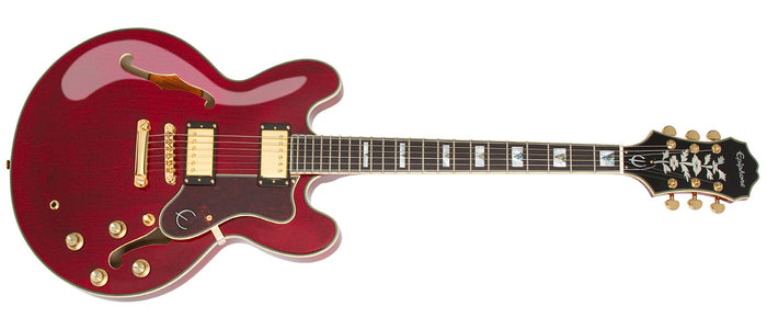 EPIPHONE SHERATON - 2 PRO ELECTRIC GUITAR, WINE RED