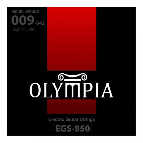 OLYMPIA EGS-850 NICKEL WOUND ELECTRIC GUITAR STRING 9-42 | Zoso Music