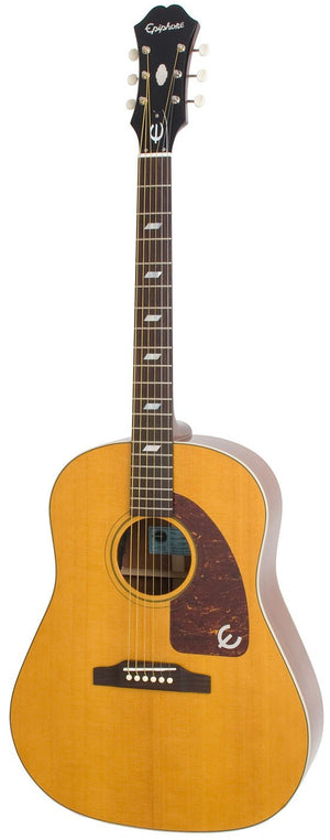 "EPIPHONE INSPIRED BY ""1964"" TEXAN, ACOUSTIC GUITAR, ANTIQUE NATURAL 