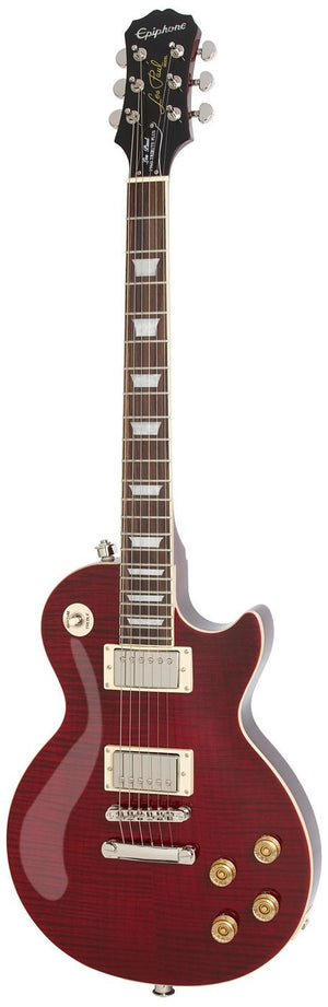 "EPIPHONE LES PAUL ""TRIBUTE"" PLUS ELECTRIC GUITAR, BLACK CHERRY 