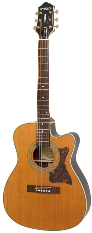EPIPHONE MASTERBILT EF-500RCCE ACOUSTIC/ELECTRIC GUITAR | Zoso Music