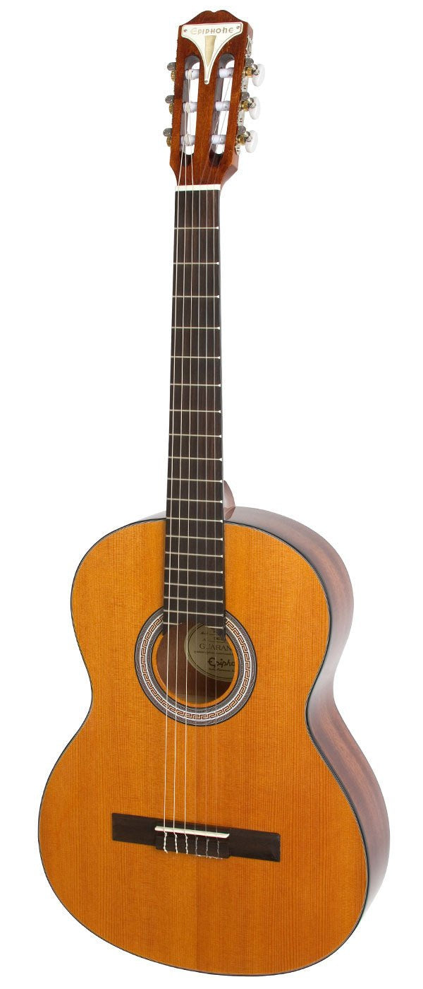 EPIPHONE PRO-1 CLASSIC CLASSICAL GUITAR 2 INCH NUT ANTIQUE NATURAL