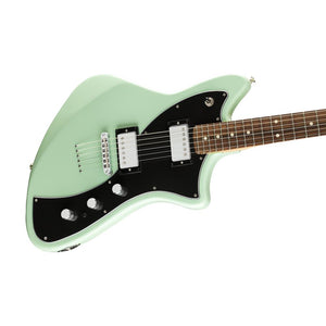 Fender Alternate Reality Meteora HH Electric Guitar, Pau Ferro FB, Seafoam Green