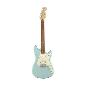 Fender Duo-Sonic Electric Guitar, Pau Ferro FB, Daphne Blue