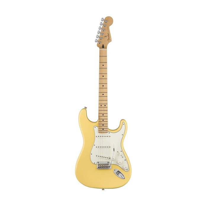 Fender Player Stratocaster Electric Guitar, Maple FB, Buttercream