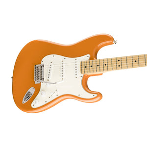 Fender Player Stratocaster Electric Guitar, Maple FB, Capri Orange