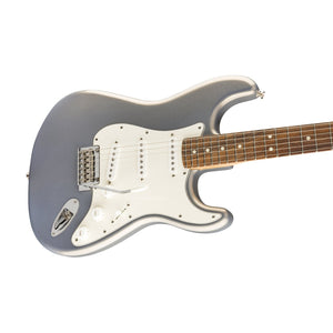 Fender Player Stratocaster Electric Guitar, Pau Ferro FB, Silver
