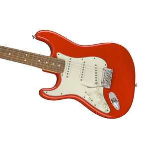 Fender Player Stratocaster Left-Handed Electric Guitar, Pau Ferro FB, Sonic Red