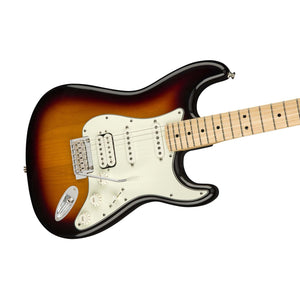 Fender Player Stratocaster Electric Guitar HSS Maple FB, 3-Tone Sunburst