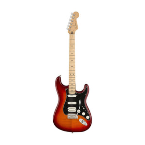 Fender Player HSS Plus Top Stratocaster Electric Guitar, Maple FB, Aged Cherry Burst