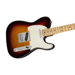 Fender Player Telecaster Electric Guitar, Maple FB, 3-Tone Sunburst