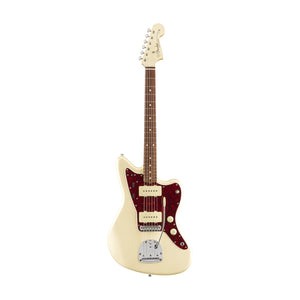 Fender Vintera 60s Jazzmaster Electric Guitar, Pau Ferro FB, Olympic White w/Matching Headstock