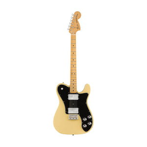 Fender Vintera 70s Telecaster Deluxe Electric Guitar, Maple FB, Vintage Blonde