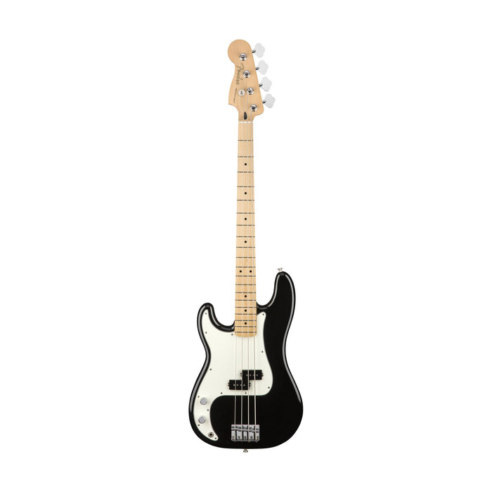 Fender Player Precision Bass Left-Handed Guitar, Maple FB, Black