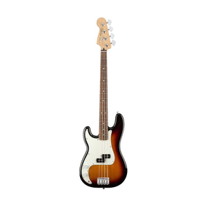 Fender Player Precision Bass Left-Handed Guitar, Pau Ferro FB, 3-Tone Sunburst