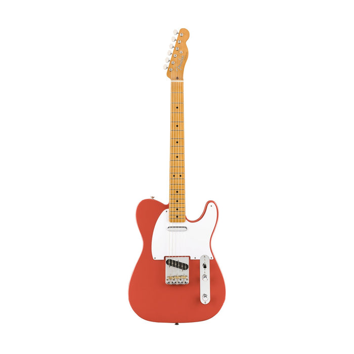 Fender Vintera 50s Telecaster Electric Guitar, Maple FB, Fiesta Red