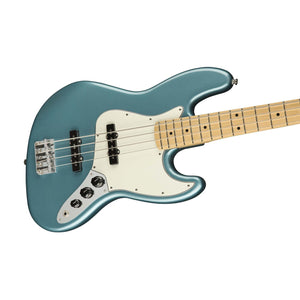 Fender Player Jazz Bass Guitar, Maple FB, Tidepool