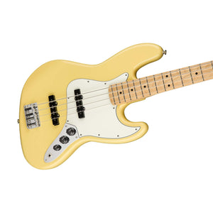 Fender Player Jazz Bass Guitar, Maple FB Buttercream