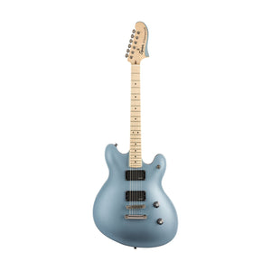 Squier Contemporary Starcaster Electric Guitar, Maple FB, Ice Blue Metallic